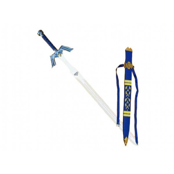 Legend of Zelda Sword - Blue with Hard Scabbard - 45 inches